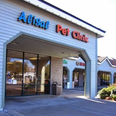 clinic front of Alisal Pet Clinic